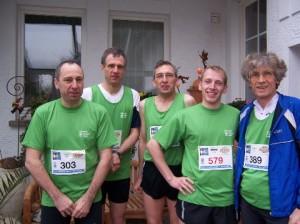 Teilnehmer des Hambachmarathons