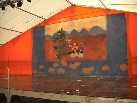 Unsere Bühne ist 18 m breit!