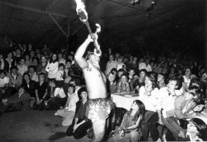 Samoa zu Gast beim Krumpernfest 1980