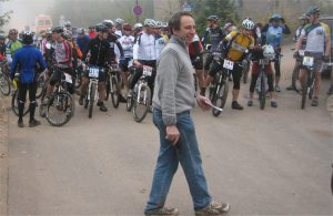 2007 Start im Nebel