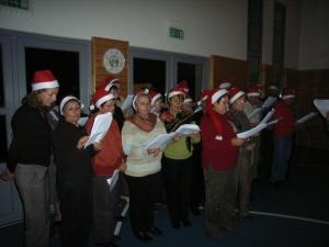Der französische Chor beim Besuch im Jahr 2005
