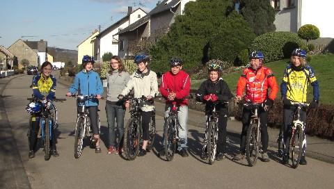 Start zum ersten Training am 20. März 2009