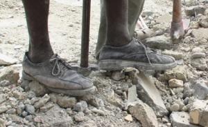 Beschreibend für die fatale Lage in Haiti